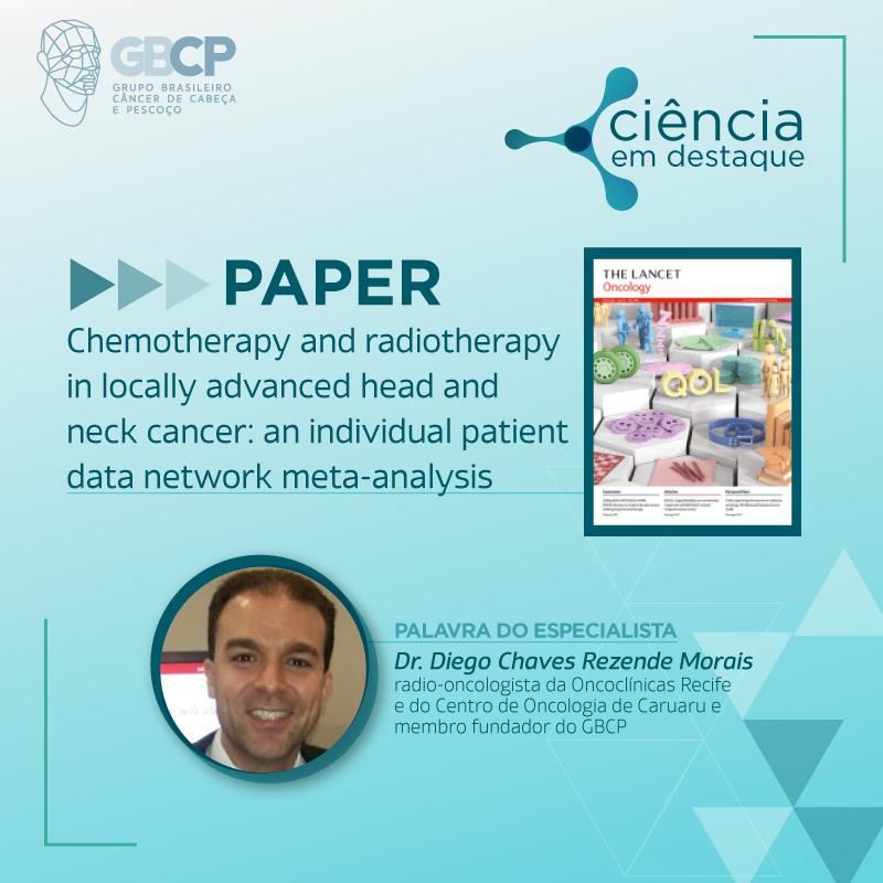 Meta-análise sugere resultados melhores com radioterapia hiperfracionada e quimioterapia concomitante, mas não avalia toxicidade relacionada ao tratamento