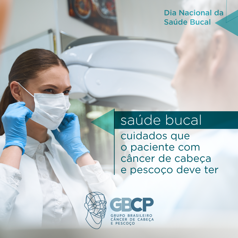 Saúde Bucal: cuidados que o paciente com câncer de cabeça e pescoço deve ter