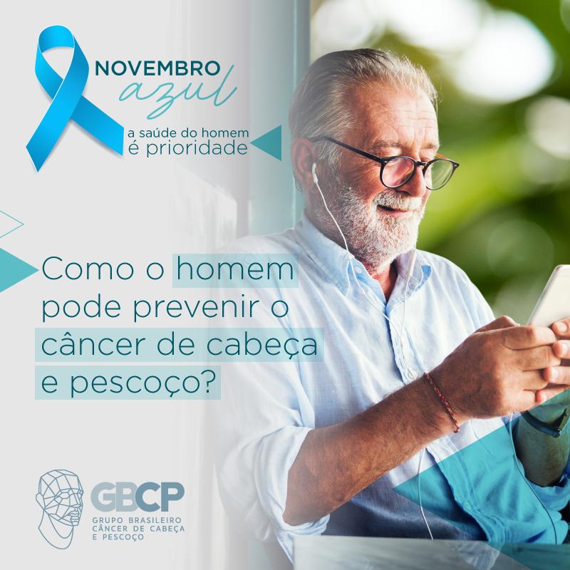 Como o homem pode prevenir o câncer de cabeça e pescoço?